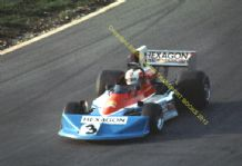"Penske PC3 Bell  Brands Shellsport 5000 October1976 5x7"" photo"